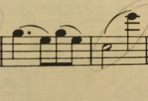 Couldn't you learn from Schumann's mistake? Large leaps to E-flat are not good on clarinet.