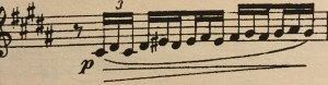 C'mon, Claude - this really had to be in B major?