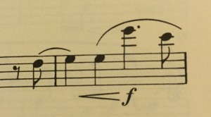 Probably the only good reason to play this piece on cello
